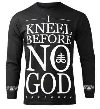longsleeve AMENOMEN - I KNEEL BEFORE NO GOD (OMEN108LO)