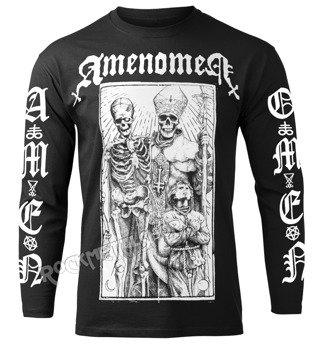 longsleeve AMENOMEN - POPE AND DEATH (OMEN085LO)