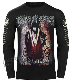 longsleeve CRADLE OF FILTH - CRUELTY AND THE BEAST