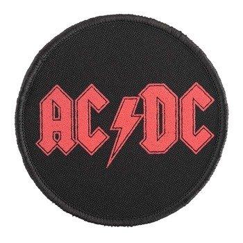 naszywka AC/DC - RED LOGO