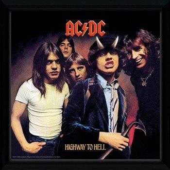 obraz w ramie AC/DC - HIGHWAY TO HELL
