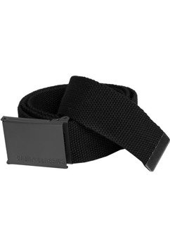 pas parciany CANVAS BELTS black