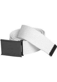 pas parciany CANVAS BELTS white