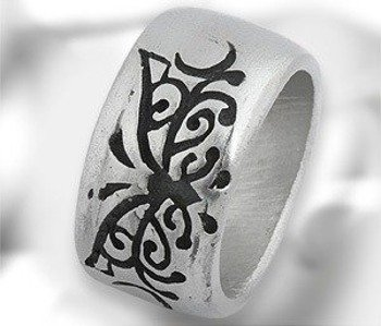 pierścień MOTYL