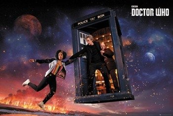 plakat DOCTOR WHO - SEASON 10 ICONIC