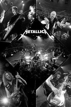 plakat METALLICA - LIVE