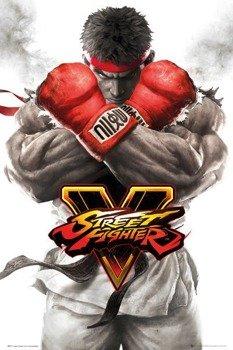 plakat STREET FIGHTER 5 - RYU KEY ART