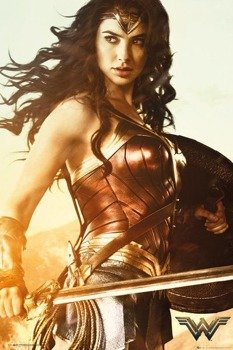 plakat WONDER WOMAN - SWORD