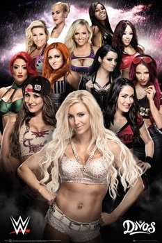 plakat WWE - DIVAS
