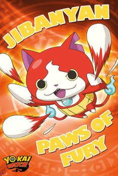 plakat YOKAI WATCH - PAWS OF FURY