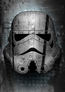 plakat z metalu STAR WARS - IRONTROOPER