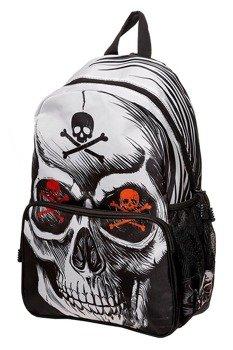 plecak BANNED - TOXIC SKULL