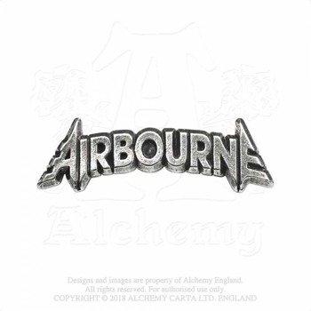 przypinka AIRBOURNE - LETTERING LOGO
