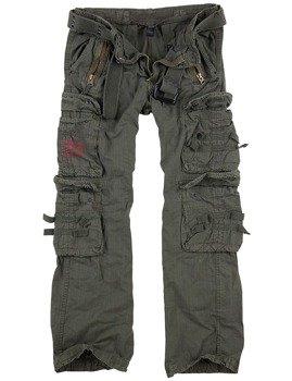 spodnie bojówki ROYAL TRAVELER TROUSER - ROYALGREEN