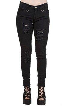 spodnie damskie BANNED - MOVE ON UP BLACK