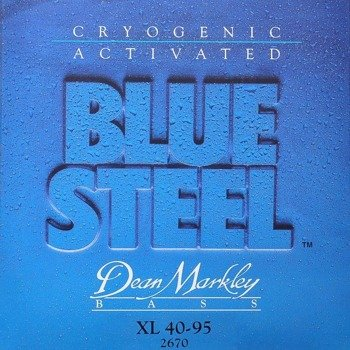 struny do gitary basowej DEAN MARKLEY - BLUE STEEL XL 40-95