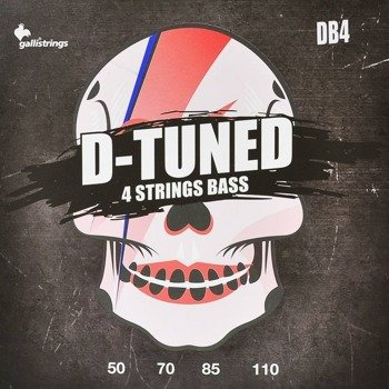 struny do gitary basowej GALLI STRINGS - D-TUNED DB4 obniżony strój /050-110/