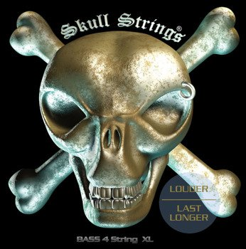 struny do gitary basowej Skull Strings BASS Line B4XL /040-100/