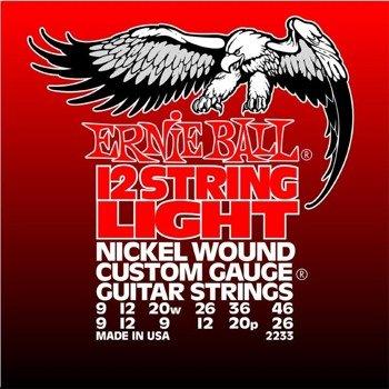 struny do gitary elektrycznej 12str. ERNIE BALL Nickel Wound EB2233 /009-046/