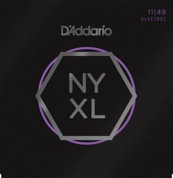 struny do gitary elektrycznej D'ADDARIO NYXL1149 Medium /011-049/