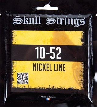 struny do gitary elektrycznej Skull Strings NICKEL Line /010-052/