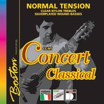 "struny do gitary klasycznej BOSTON ""CONCERT"" naciąg normalny (CC-BE)"