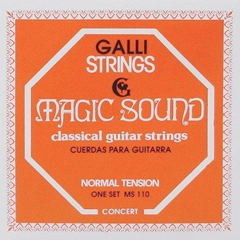 "struny do gitary klasycznej GALLI MS-110 ""MAGIC SOUND"", Normal Tension"