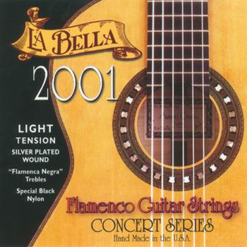 struny do gitary klasycznej LA BELLA Flamenco 2001FL Light Tension