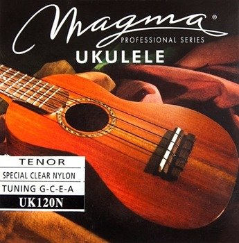 struny do ukulele tenorowego MAGMA TENOR Clear Nylon