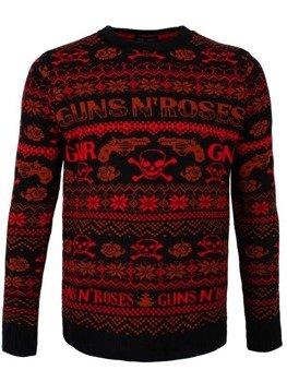 sweter GUNS N' ROSES - PISTOL SKULL