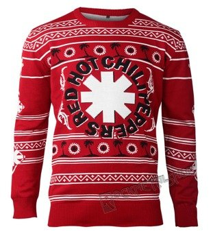 sweter RED HOT CHILI PEPPERS - PALM TREES UGLY XMAS SWEATER
