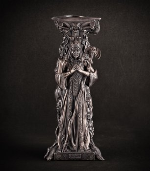 świecznik BRONZE TRIPE GODDESS TEALIGHT HOLDER