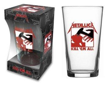 szklanka do piwa METALLICA - KILL 'EM ALL