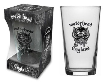 szklanka do piwa MOTORHEAD - ENGLAND