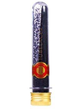 sznurowadła TUBELACES - GOLD FLAT SPLATTER BLACK/WHITE (130 cm)