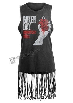 tunika damska GREEN DAY - AMERICAN IDIOT VINTAGE, na ramiączkach