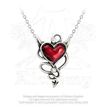 wisiorek DEVIL HEART UL17