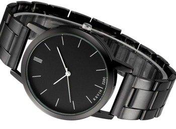 zegarek RETRO BLACK