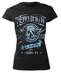 bluzka damska AEROSMITH - AERO FORCE ONE DISTRESSED
