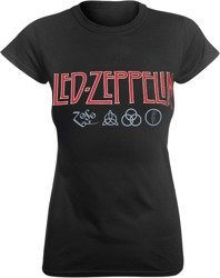 bluzka damska LED ZEPPELIN - LOGO AND SYMBOLS
