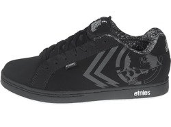 buty ETNIES - METAL MULISHA FADER BLACK WHITE