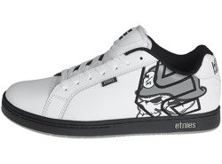 buty ETNIES - METAL MULISHA FADER WHITE BLACK GREY