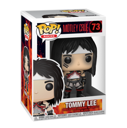 figurka MOTLEY CRUE - TOMMY LEE, Funko Pop!