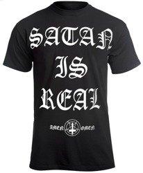 koszulka AMENOMEN - SATAN IS REAL (OMEN100KM)