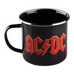 kubek AC/DC - LOGO metalowy