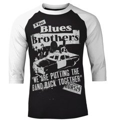 longsleeve BLUES BROTHERS - BAND BACK TOGETHER, rękaw 3/4