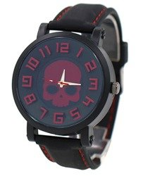 zegarek SKULL RED