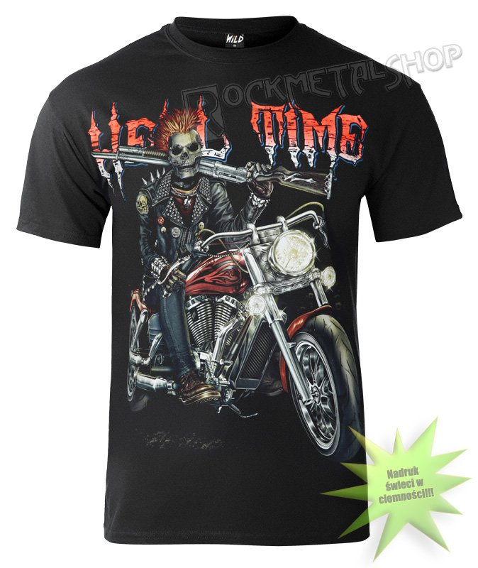 koszulka HELL TIME | sklep MetalHead.pl rockowe ciuchy dla