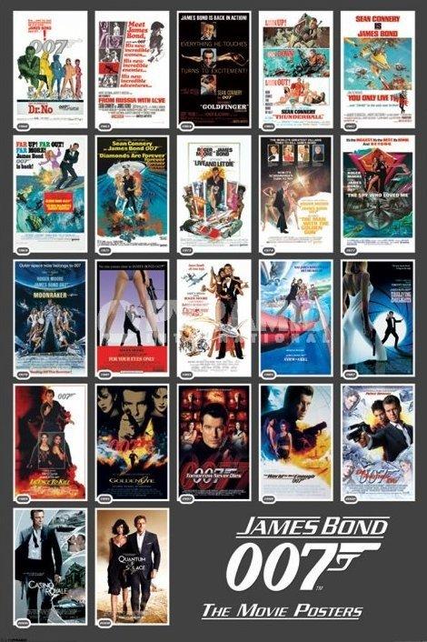 Plakat James Bond 22 Movie Posters Sklep Metalheadpl