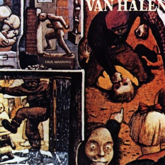 VAN HALEN: FAIR WARNING - REMASTERED (CD)